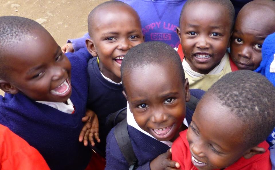 The children in St.. Catherine